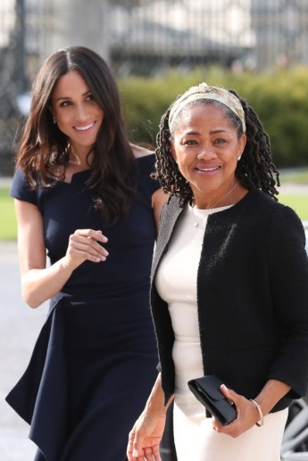 Meghan Markle e Doria Ragland (Foto: Getty Images)