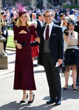 Gabriel Macht e a esposa Jacinda Barrett. (Toby Melville/Getty Images)