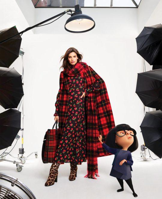 Harpers-Bazaar-Disney-Pixar-Sara-Sampaio-Victor-Demarchelier-2