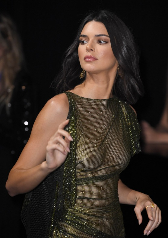 Mandatory Credit: Photo by James Gourley/REX/Shutterstock (9668821bj) Kendall Jenner Secret Chopard party, 71st Cannes Film Festival, France - 11 May 2018
