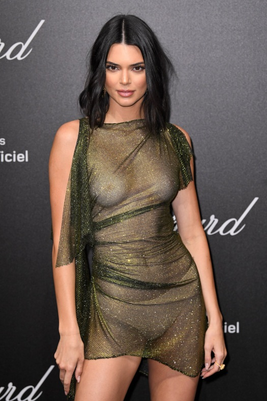 Mandatory Credit: Photo by James Gourley/REX/Shutterstock (9668821by) Kendall Jenner Secret Chopard party, 71st Cannes Film Festival, France - 11 May 2018