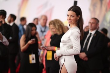 A atriz Evangeline Lilly no red carpet de Homem-Formiga e a Vespa (Foto: Getty Images