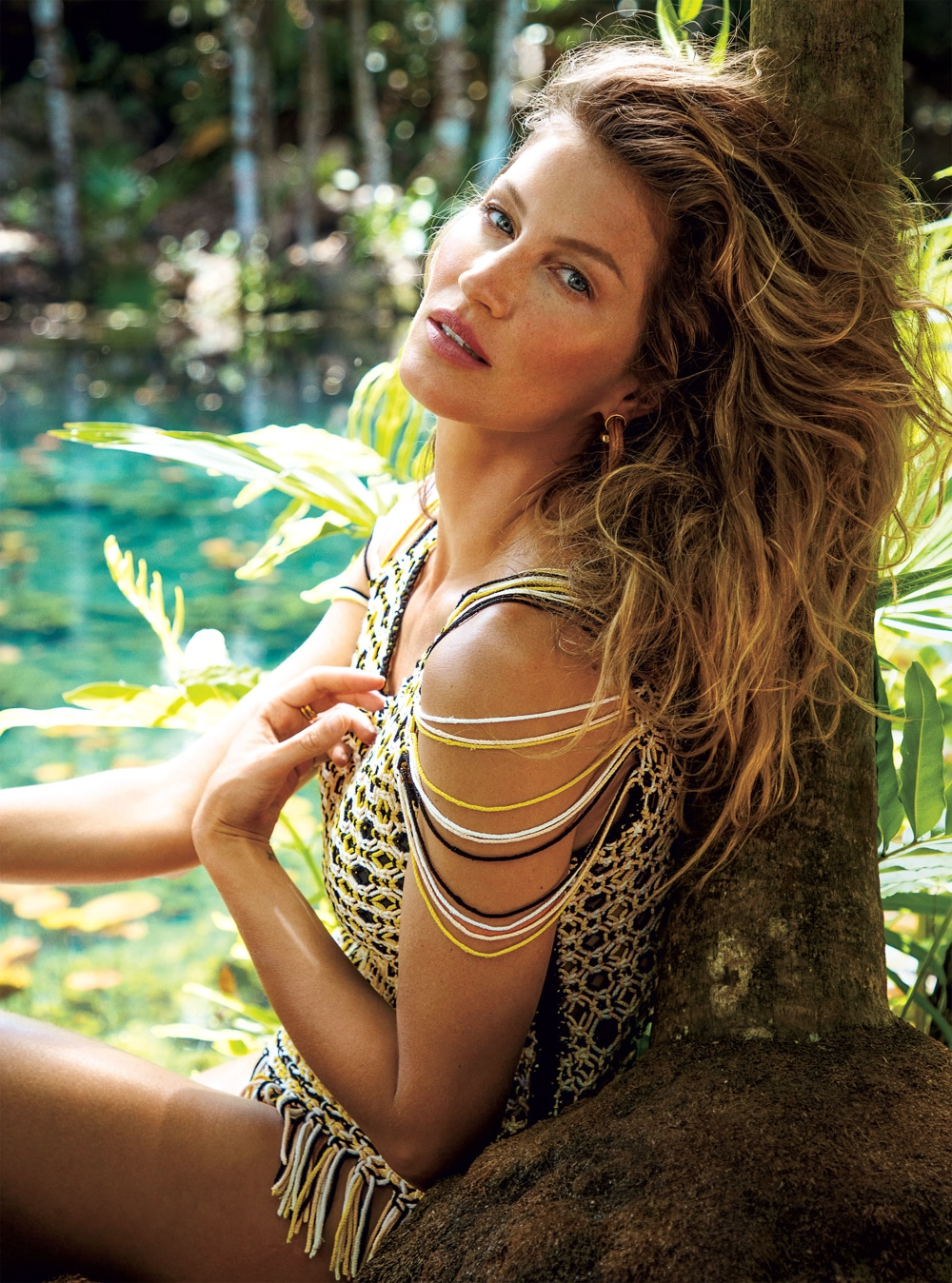 Gisele Bündchen for Vogue July 2018 Issue by Inez ...