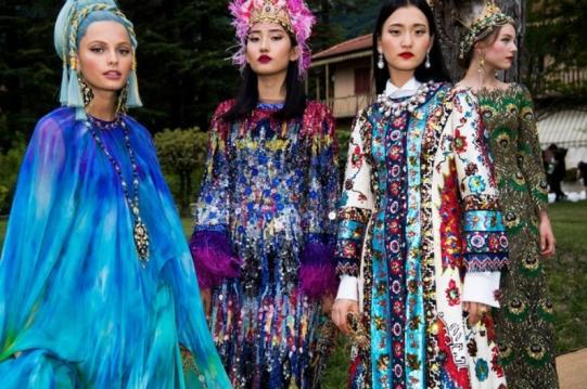 A Alta Moda da Dolce & Gabbana é como se fosse uma alta-costura - só que na Itália!