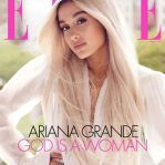 """Outra capa de Ari com o título do próximo single: """"God is a Woman"""""""