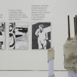 Trajetória profissional de Le Corbusier é destaque no MCB Foto: Vinicius Stasolla