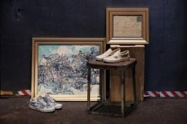 Coleção da Vans com as obras de Van Gogh chega nas lojas na segunda quinzena de agosto Foto: Divulgação/Vans