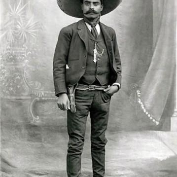 O mexicano é inspirado em Emiliano Zapata!