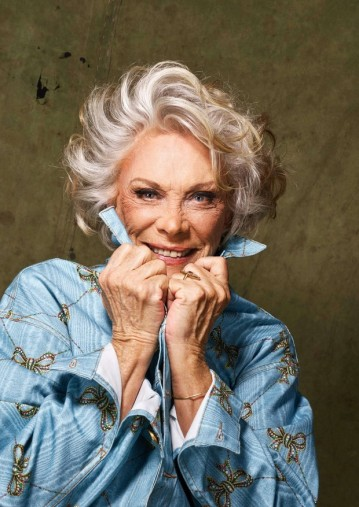 Ilka foi modelo nas décadas de 50 e 60 (Foto: Nana Moraes/Divulgação)
