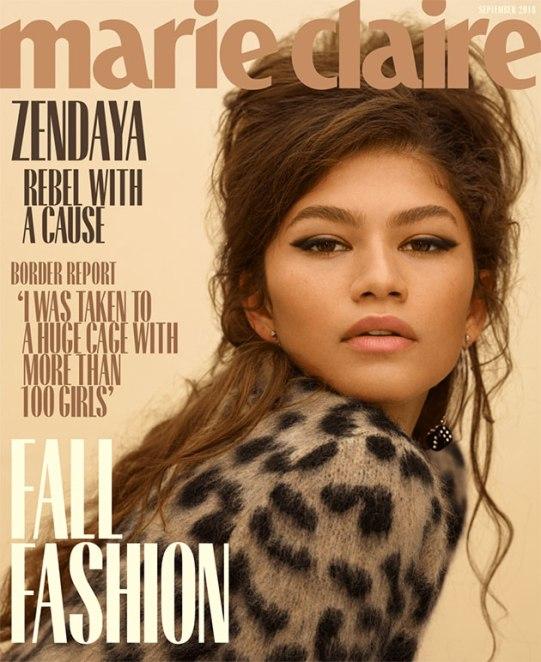 "Zendaya tipo anos 60 pra ""Marie Claire"" americana"