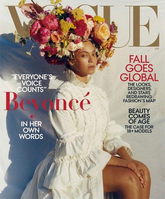 "Beyoncé ""flawless"" na capa da ""Vogue"" América"