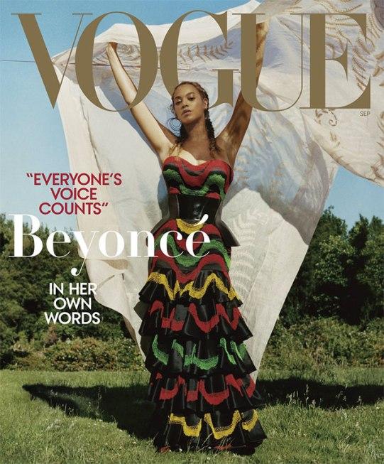 A outra capa com Beyoncé