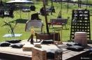 Objetos estão à venda na primeira loja temporária ao ar livre, no Wine Garden de vinícola de Bento Gonçalves. Foto: Rodinaldo Severo Goulart