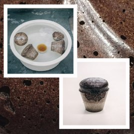 Testes com a borra de café e o resíduo vegetal