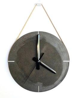 O que você acha de ter um relógio feito de café?