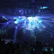 Bristol Arena Internal Rock Concert