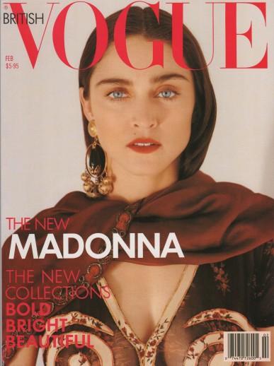 1989: Vogue britânica, por Herb Ritts (Foto: Divulgação)