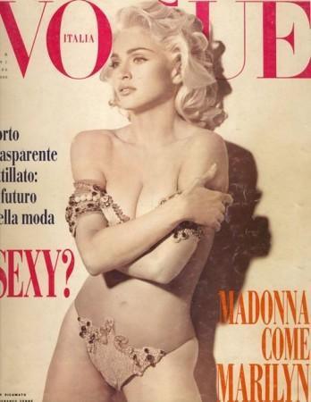 1991: Vogue Itália (Foto: Divulgação )