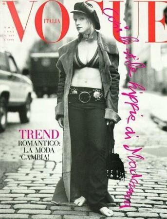 1992: Vogue Itália, por Steven Meisel (Foto: Divulgação )