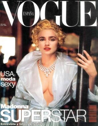 1990: Vogue espanhola, por Helmut Newton (Foto: Divulgação)