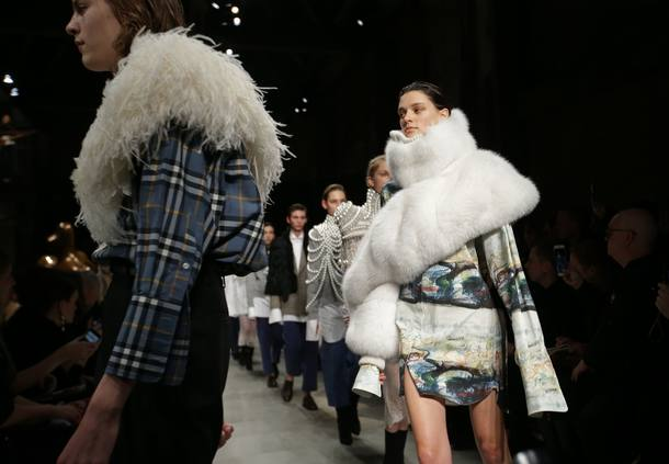 FILES-FASHION-BRITAIN-BURBERRY-ENVIRONMENT-POLLUTION