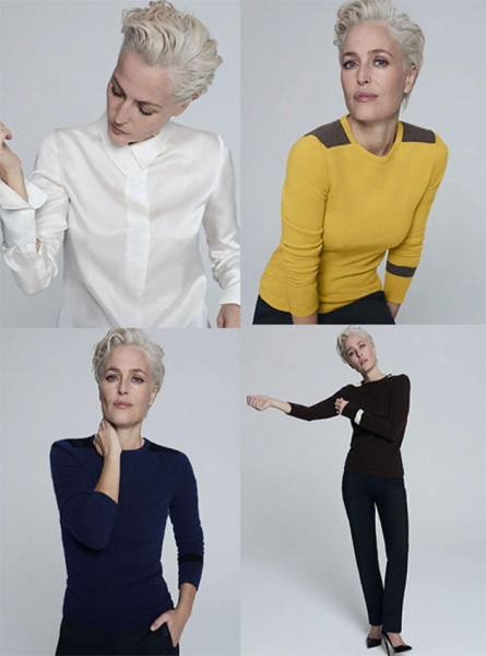 Será que a gente fica tão chic quanto a Gillian se usar essas roupas?