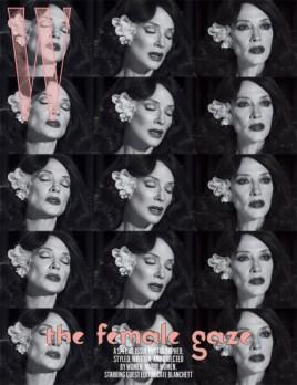 Cate encarna uma cantora na capa da artista iraniana Shirin Neshat