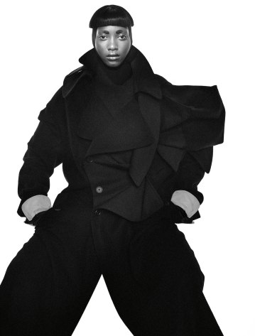 Photographer – David Sims | Stylist – Katy England | Model – Mame Thiane Camara