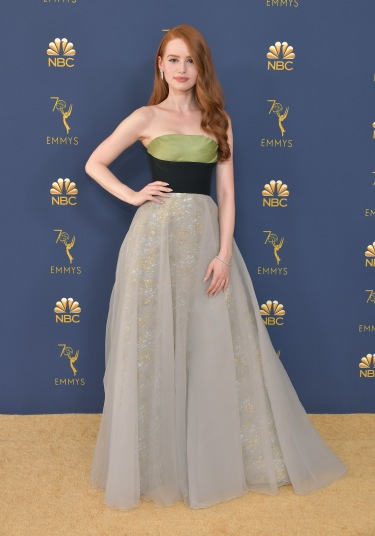 LOS ANGELES, CA - SEPTEMBER 17: Madelaine Petsch attends the 70th Emmy Awards at Microsoft Theater on September 17, 2018 in Los Angeles, California. (Photo by Neilson Barnard/Getty Images)