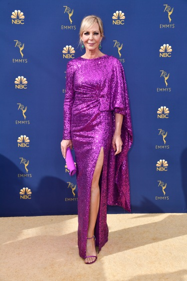 LOS ANGELES, CA - SEPTEMBER 17: Allison Janney attends the 70th Emmy Awards at Microsoft Theater on September 17, 2018 in Los Angeles, California. (Photo by Frazer Harrison/Getty Images)