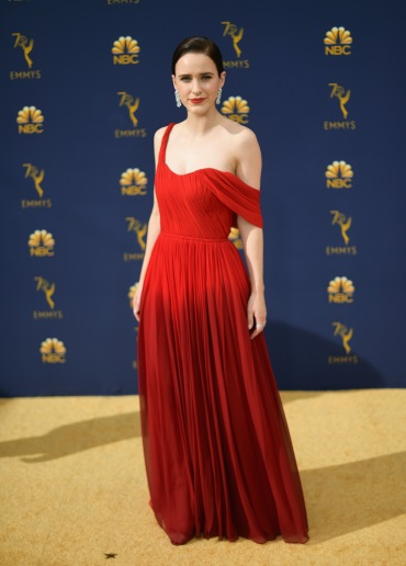 LOS ANGELES, CA - SEPTEMBER 17: Rachel Brosnahanattends the 70th Emmy Awards at Microsoft Theater on September 17, 2018 in Los Angeles, California. (Photo by Matt Winkelmeyer/Getty Images)