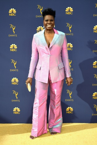 LOS ANGELES, CA - SEPTEMBER 17: Leslie Jones attends the 70th Emmy Awards at Microsoft Theater on September 17, 2018 in Los Angeles, California. (Photo by Matt Winkelmeyer/Getty Images)