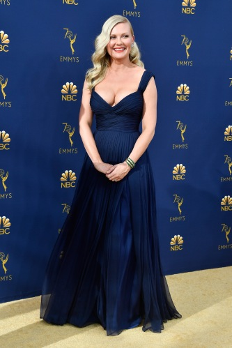 LOS ANGELES, CA - SEPTEMBER 17: Kirsten Dunst attends the 70th Emmy Awards at Microsoft Theater on September 17, 2018 in Los Angeles, California. (Photo by Frazer Harrison/Getty Images)