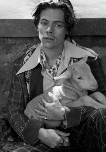 Harry Styles na nova campanha da Gucci (Foto: Divulgação)