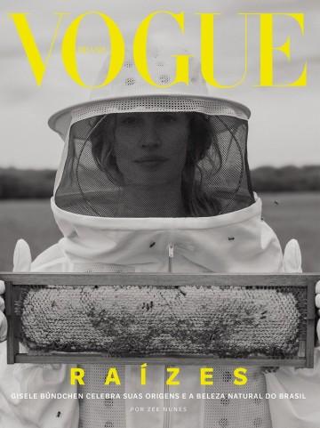 A terceira capa de Gisele Büdchen na edição de outubro da Vogue Brasil (Foto: Zee Nunes. Edição de moda: Pedro Sales. Beleza: Henrique Martins. Direção executiva: Felipe Tadeu/Mangaba)