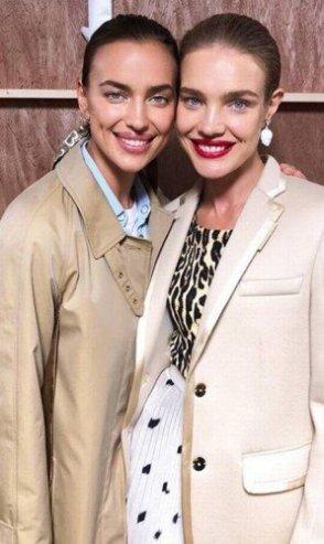 As russas Irina Shayk e Natalia VodianovaFoto: Reprodução/Instagram