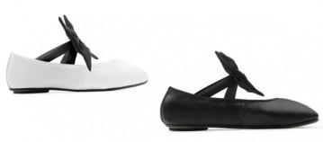 Sapatilhas de dança, de balé e sapatos oxford fazem parte da coleção e vão estar disponíveis em grande variedade de cores - essas em P&B são só um exemplo!