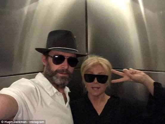 Hugh Jackman e Deborra-lee Furness (Foto Instagram)