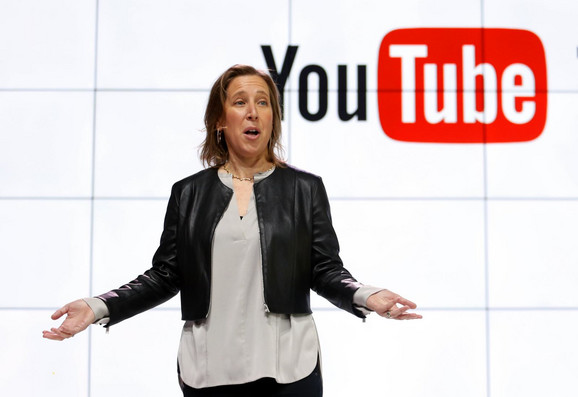 Susan Wojcicki é a presidente executiva do YouTube