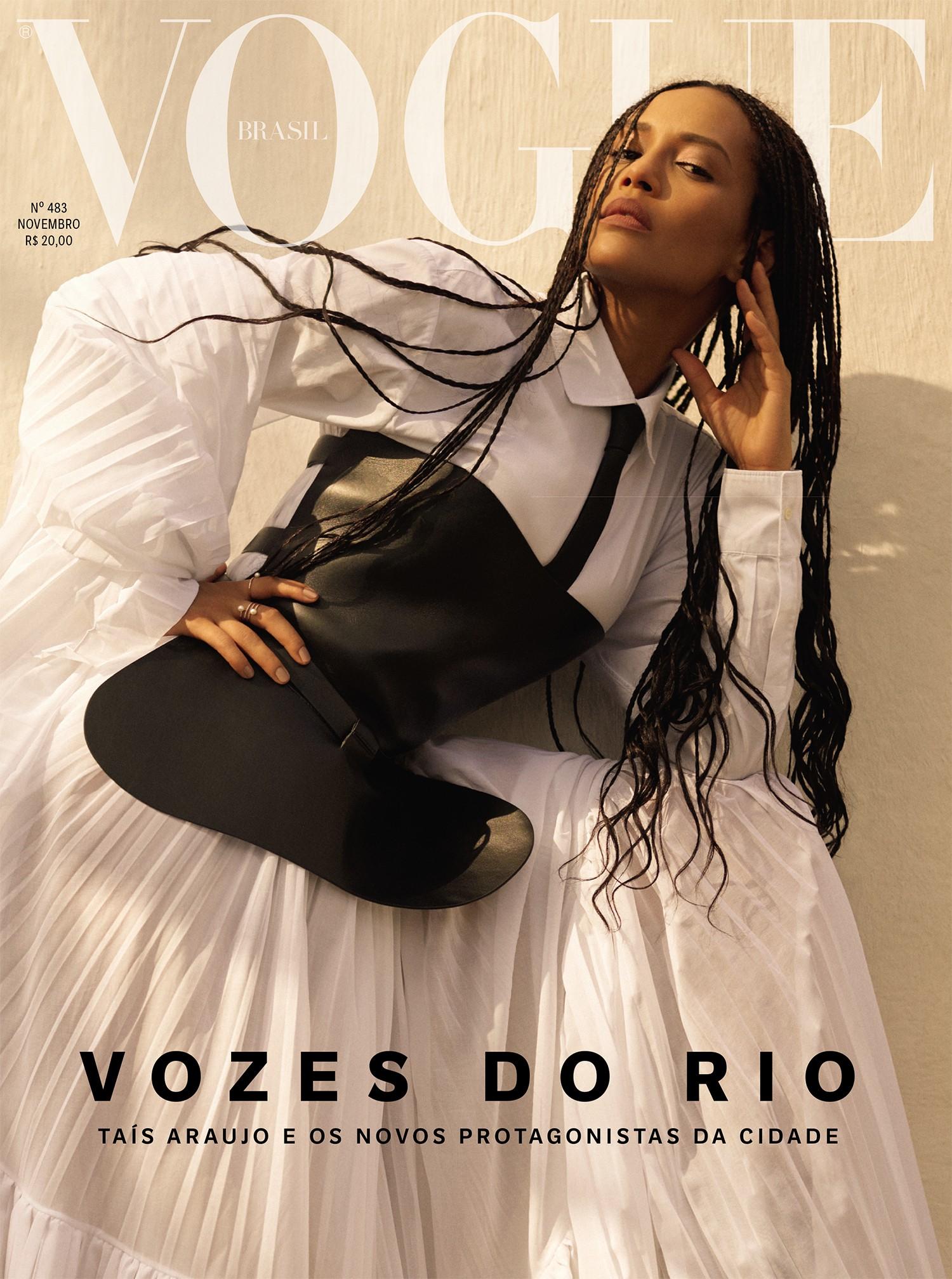 211bbcf65 Taís Araujo é a cover-girl da Vogue de novembro especial Rio de Janeiro –  UFW