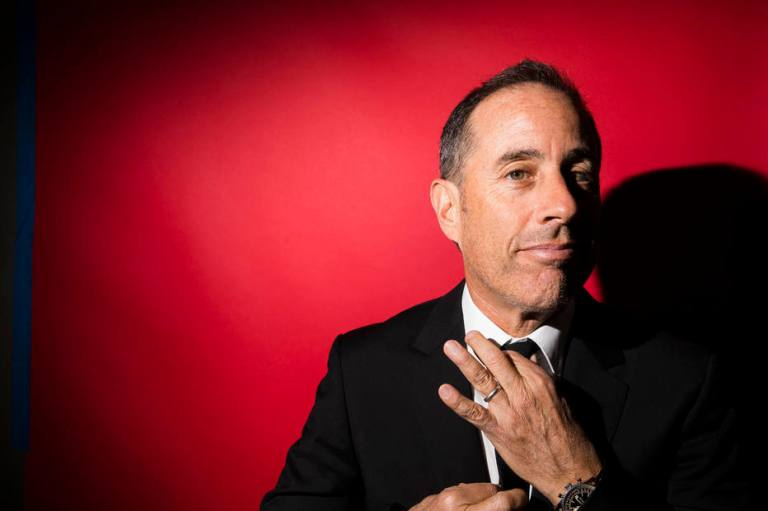 Jerry Seinfeld at the Beacon Theater, where he will perform 20 new shows in 2019, in New York.