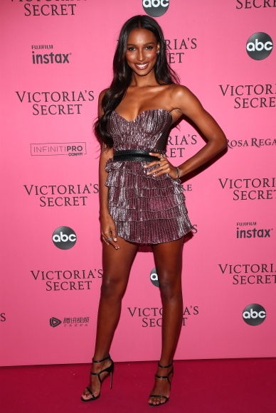 NEW YORK, NY - NOVEMBER 08: Jasmine Tookes attends the 2018 Victoria's Secret Fashion Show After Party on November 8, 2018 in New York City. (Photo by Astrid Stawiarz/Getty Images for Victoria's Secret)