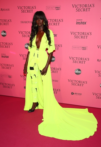 NEW YORK, NY - NOVEMBER 08: Duckie Thot attends the 2018 Victoria's Secret Fashion Show After Party on November 8, 2018 in New York City. (Photo by Astrid Stawiarz/Getty Images for Victoria's Secret)