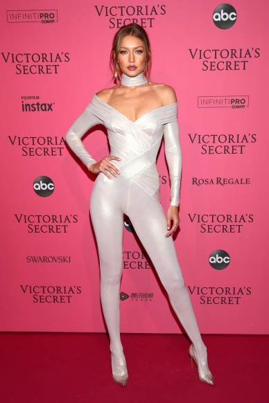 NEW YORK, NY - NOVEMBER 08: Gigi Hadid attends the 2018 Victoria's Secret Fashion Show After Party on November 8, 2018 in New York City. (Photo by Astrid Stawiarz/Getty Images for Victoria's Secret)