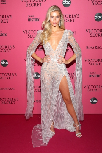 NEW YORK, NY - NOVEMBER 08: Josie Marie Canseco attends the 2018 Victoria's Secret Fashion Show After Party on November 8, 2018 in New York City. (Photo by Astrid Stawiarz/Getty Images for Victoria's Secret)