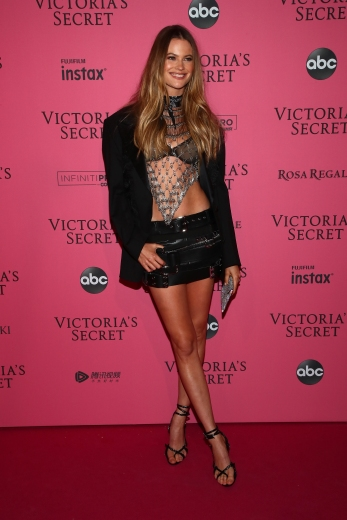 NEW YORK, NY - NOVEMBER 08: Behati Prinsloo attends the 2018 Victoria's Secret Fashion Show After Party on November 8, 2018 in New York City. (Photo by Astrid Stawiarz/Getty Images for Victoria's Secret)