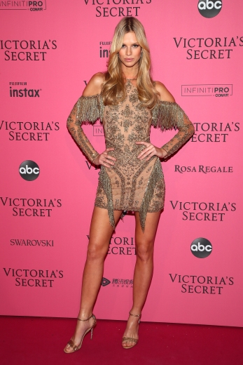 NEW YORK, NY - NOVEMBER 08: Nadine Leopold attends the 2018 Victoria's Secret Fashion Show After Party on November 8, 2018 in New York City. (Photo by Astrid Stawiarz/Getty Images for Victoria's Secret)