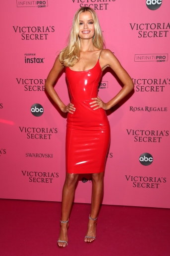 NEW YORK, NY - NOVEMBER 08: Frida Aasen attends the 2018 Victoria's Secret Fashion Show After Party on November 8, 2018 in New York City. (Photo by Astrid Stawiarz/Getty Images for Victoria's Secret)
