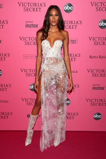 NEW YORK, NY - NOVEMBER 08: Cindy Bruna attends the 2018 Victoria's Secret Fashion Show After Party on November 8, 2018 in New York City. (Photo by Astrid Stawiarz/Getty Images for Victoria's Secret)