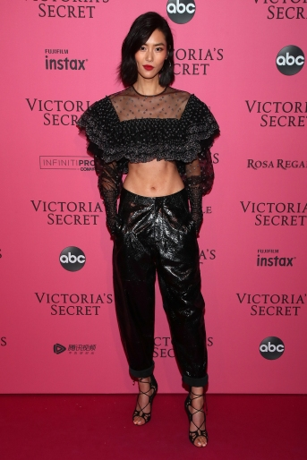NEW YORK, NY - NOVEMBER 08: Liu Wen attends the 2018 Victoria's Secret Fashion Show After Party on November 8, 2018 in New York City. (Photo by Astrid Stawiarz/Getty Images for Victoria's Secret)